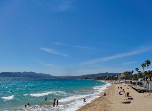 Cannes Beach, France