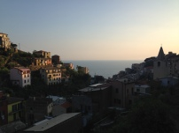 Cinque Terre at sunset